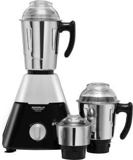 MAHARAJA WHITELINE Infinimax Dlx MX-224 750 W Mixer Grinder (3 Jars, Grey, Black)