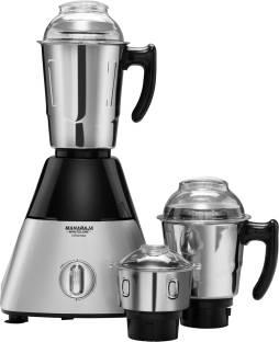 MAHARAJA WHITELINE Infinimax HD MX-226 1000 W Mixer Grinder (3 Jars, Black, Grey)