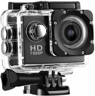 ALA GO PRO Portable Waterproof Ultra HD Sports Action Camera with Image Sensor & Wide Angle Lens for S...