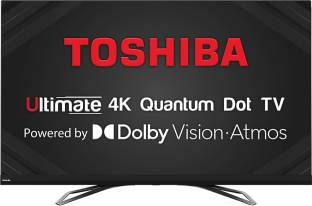 TOSHIBA U80 Series 164 cm (65 inch) Ultra HD (4K) LED Smart TV with Dolby Vision & ATMOS