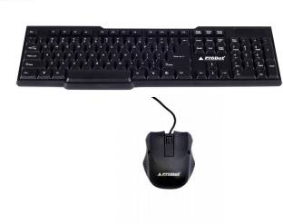 PRODOT Kb-207s Keyboard Mouse Wired USB Laptop Keyboard