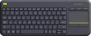 Logitech K400 Plus Wireless Desktop Keyboard Black