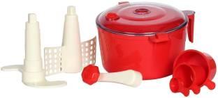Adyant Atta Maker, Dough Maker, Atta Machine, Chakki 3 in 1 for Kitchen (Red) Plastic Detachable Dough...