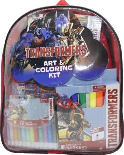 Transformers Art & Coloring Set - Optimus Prime