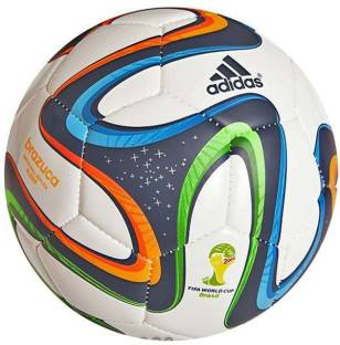 ADIDAS Brazuca Glider Replica Football   Size: 5   Pack of 1
