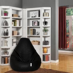 Flipkart Perfect Homes Studio Leatherette XL Standard Kid Bean Bag