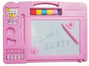 NIA Drawing Magic Slate & Writing Board 2 In 1 for kids