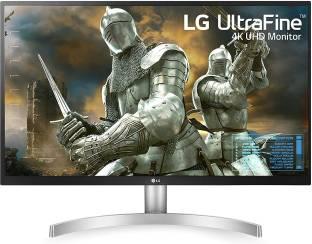 LG 27 inch 4K Ultra HD IPS Panel White Colour Monitor (27UL500)