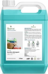 Shatras Liquid Detergent, Suitable for top load detergent and front load liquid detergent, Wash Detergent for Machine and Hand Wash - 5 Litre Lavender Liquid Detergent