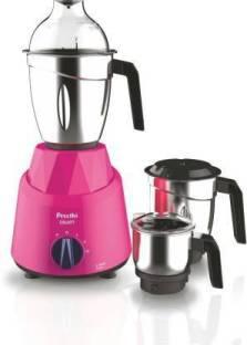 Preethi MG225 GALAXY 750 Mixer Grinder (3 Jars, Pink)