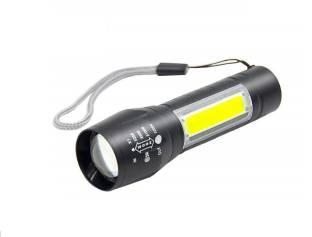 CPEX LED Flashlight with COB Light Mini Waterproof Portable LED XPE COB Flashlight USB Rechargeable 3 ...