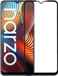 Flipkart SmartBuy Edge To Edge Tempered Glass for Realme C12, Realme Narzo 30A, Realme Narzo 20