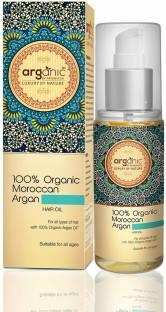 Aryanveda 100% Organic Moroccan Argan  Hair Oil