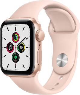 APPLE Apple Watch SE 40 mm Gold Aluminium Case with Pink Sand Sport Band