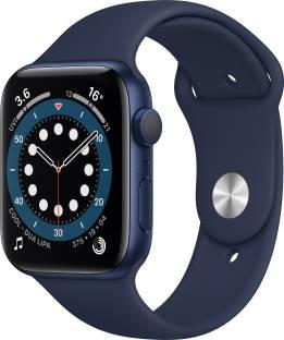 APPLE Watch Series 6 GPS 44 mm Blue Aluminium Case with Deep Navy Sport Band