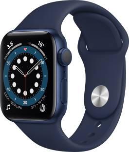 APPLE Watch Series 6 GPS 40 mm Blue Aluminium Case with Deep Navy Sport Band