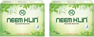 Vrinda Ayurvedics Neem Soap for Acne, Pimples and Rashes Facial and Body Bathing Bar - (Pack of 2)