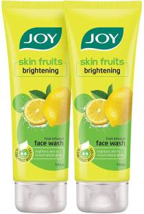 Joy Skin Fruits Brightening Lemon Gel  Face Wash
