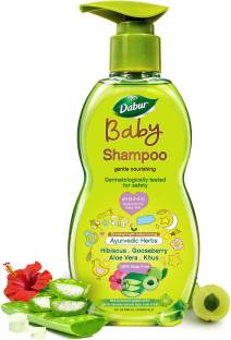 Dabur Baby Shampoo Tear Free |Contains Aloe Vera & Gooseberry | No Parabens & Phthalates
