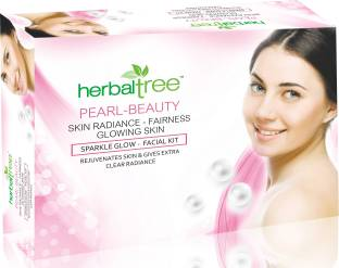 Herbal Tree Pearl Facial Kit for Rejuvenates skin & Gives Extra Clear Radiance