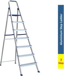 Flipkart SmartBuy 7 Step With Heavy Platform Aluminium Ladder
