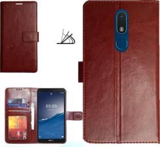 MYSHANZ Flip Cover for Nokia C3 , Nokia C3 (2020)Flip cover