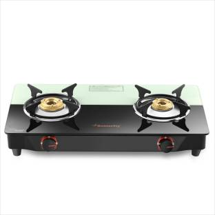 Butterfly Rapid Plus Glass Manual Gas Stove