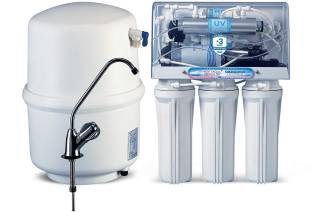 KENT EXCELL+ 15 LITRES UNDER THE COUNTER RO + UV/UF+TDS CONTROLLER (WHITE) 15-LTR/HR WATER PURIFIER 15...