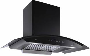 Elica WD TBF HAC 90 MS NERO Auto Clean Wall Mounted Chimney