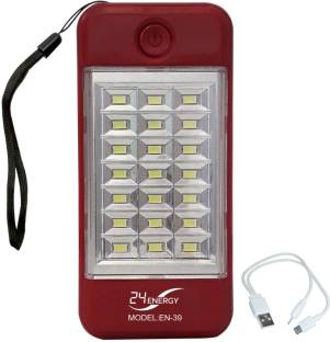 24 ENERGY LED Torch with Power Bank Rechargeable Torch