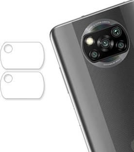 ARBAN Back Camera Lens Glass Protector for Poco X3