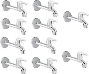 FLO Premium quality stainless steel Flora Long body Tap - Pack of 10 Bib Tap Faucet