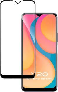Hupshy Edge To Edge Tempered Glass for Vivo Y20, Vivo Y20i