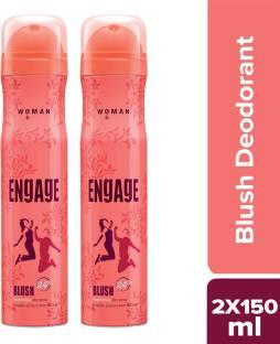Engage Blush Deodorant Spray - For Women(150 ml) Deodorant Spray  -  For Women