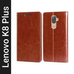 Unistuff Flip Cover for Lenovo K8 Plus