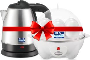 KENT 16056 & 16053 Electric Kettle with Egg Cooker
