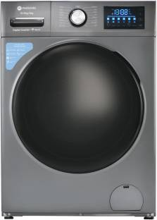 Motorola 10.5/6 kg Smart Wi-Fi Enabled Inverter Technology Washer with Dryer with In-built Heater Grey