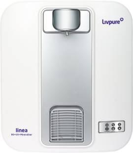 LIVPURE Linea 5 L RO + UV + Mineraliser Water Purifier