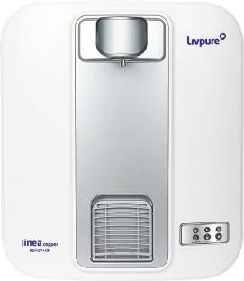 LIVPURE Linea Copper 5 L RO + UV + UF Water Purifier