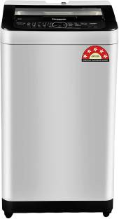 Panasonic 7 kg Fully Automatic Top Load with In-built Heater Grey