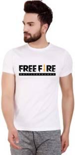 MR.PRINCE Printed Men Round Neck White T-Shirt