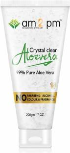AM2PM Clear Aloe Vera gel with natural Ingredients