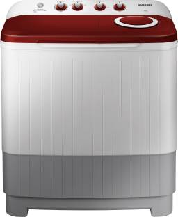 SAMSUNG 7 kg Semi Automatic Top Load Red, White, Grey
