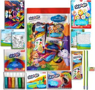 SKOODLE Colouring Series-Art Set