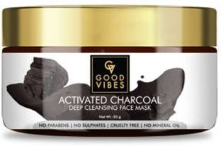 GOOD VIBES Activated Charcoal Deep Cleansing Face Mask