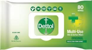 Dettol Mutil-Use Skin & Surface Wipes, Original
