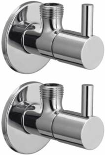 Torofy Turbo Angle Valve Brass Disc Stop Cock for Bathroom Taps, Geyser and Wash Basin Connection with...