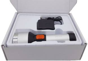 WOZIT 19 W Laser Rechargeable LED Torch, Rechargeable Torch Light Led, Torch Light High Power Long Dis...