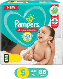Pampers Diaper Pants with Aloe Vera Lotion - S