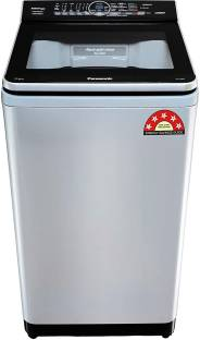 Panasonic 7 kg Fully Automatic Top Load with In-built Heater Silver